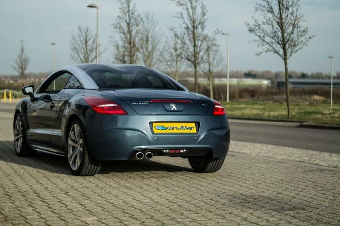 2014 Peugeot RCZ THP 200 Review - Rear Scene - carwitter