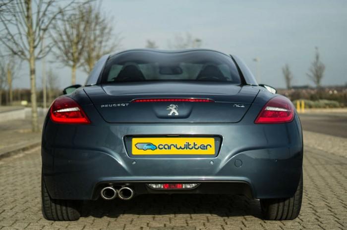 2014 Peugeot RCZ THP 200 Review - Rear - carwitter