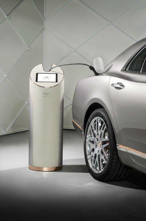 Bentley Hybrid Concept Charging Station - carwitter