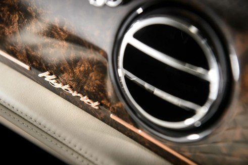 Bentley Hybrid Concept Interior Badge - carwitter