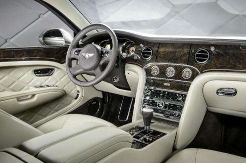 Bentley Hybrid Concept Interior Dashboard - carwitter