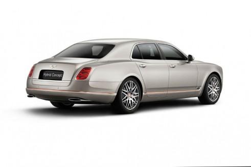 Bentley Hybrid Concept Rear - carwitter