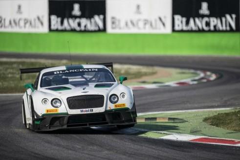 Blancpain Monza Bentley carwitter 491x327 - Blancpain 2014 - Monza - ART McLaren dominate - Blancpain 2014 - Monza - ART McLaren dominate