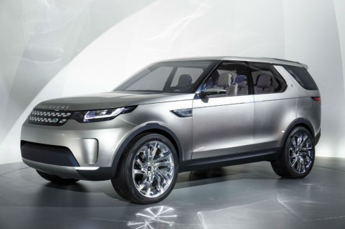 Discovery Vision Concept - Front Angle - carwitter