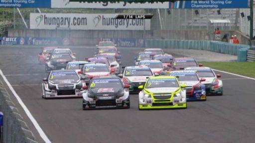 FIA WTCC 2014 Start Hungary - carwitter