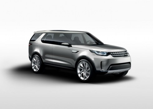 Land Rover Discovery Vision Concept Front Angle - carwitter