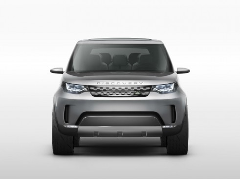 Land Rover Discovery Vision Concept Front - carwitter
