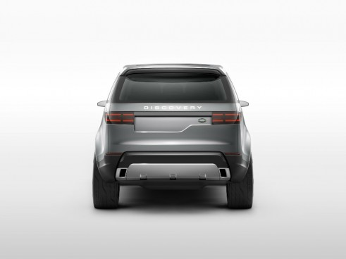 Land Rover Discovery Vision Concept Rear - carwitter