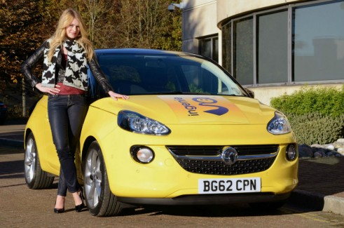 Learning To Drive - Vauxhall Adam - carwitter