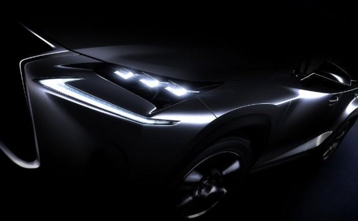 Lexus NX crossover teaser carwitter 700x432 - Lexus tease new crossover concept - Lexus tease new crossover concept