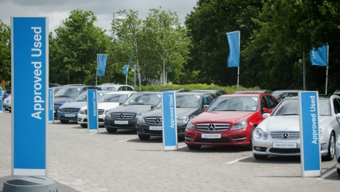 Mercedes Benz Approved Used Forecourt - carwitter