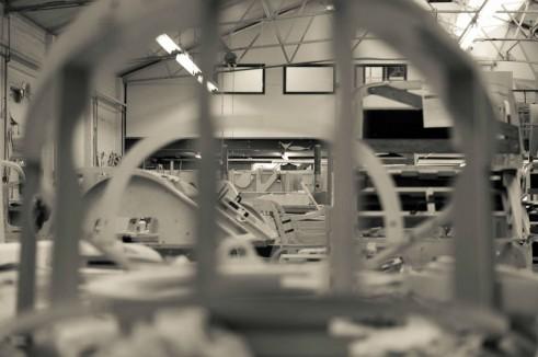 Morgan Factory Visit Tour - 3 Wheeler Body Arty - carwitter