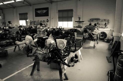 Morgan Factory Visit Tour - 3 Wheeler Chassis - carwitter