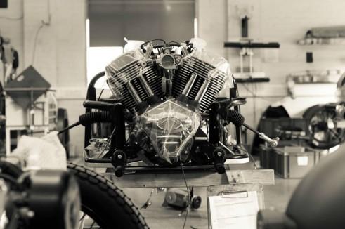 Morgan Factory Visit Tour - 3 Wheeler Engine - carwitter