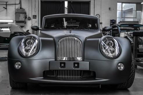 Morgan Factory Visit Tour - Aero 8 Front Close - carwitter
