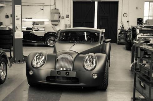Morgan Factory Visit Tour - Aero 8 Front - carwitter
