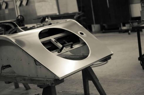 Morgan Factory Visit Tour - Aluminium Skin - carwitter