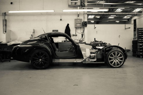 Morgan Factory Visit Tour - Bare Aero 8 - carwitter