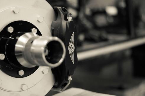 Morgan Factory Visit Tour - Brake Disc - carwitter