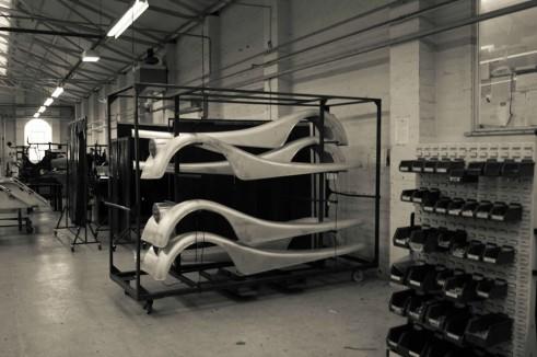 Morgan Factory Visit Tour - Front Fender - carwitter