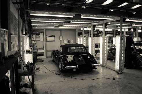Morgan Factory Visit Tour - Inspection Bay - carwitter