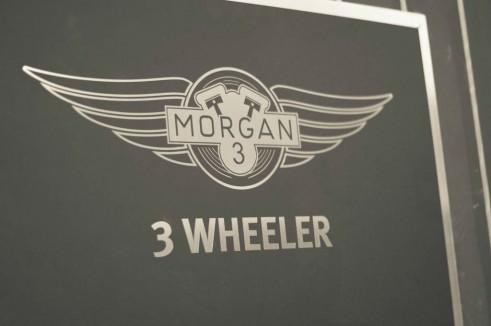 Morgan Factory Visit Tour - Morgan 3 Wheeler Sign - carwitter
