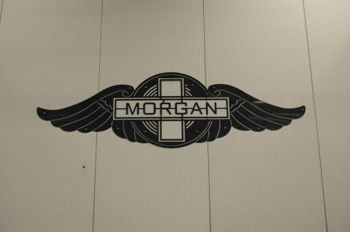 Morgan Factory Visit Tour - Morgan Logo - carwitter