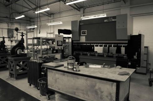 Morgan Factory Visit Tour - New Cutting Machine - carwitter