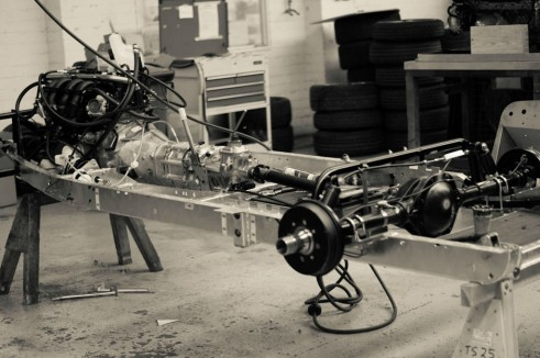 Morgan Factory Visit Tour - Plus 4 Chassis - carwitter