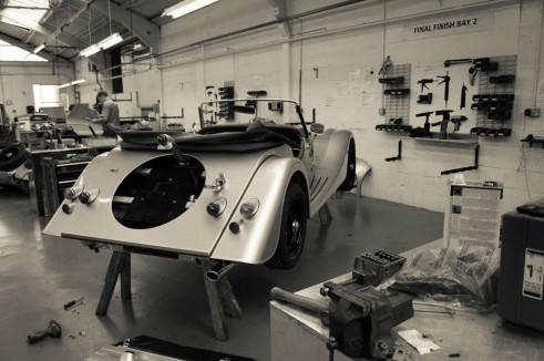 Morgan Factory Visit Tour - Plus 4 Final Trim - carwitter