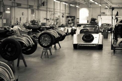 Morgan Factory Visit Tour - Production Line - carwitter