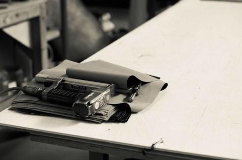 Morgan Factory Visit Tour - Staple Gun - carwitter