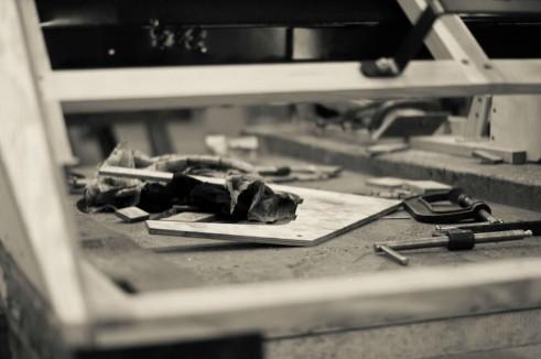 Morgan Factory Visit Tour - Tools Arty - carwitter