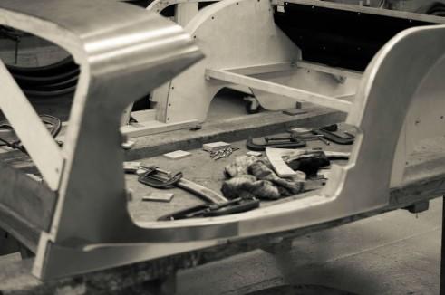Morgan Factory Visit Tour - Tools In Body - carwitter