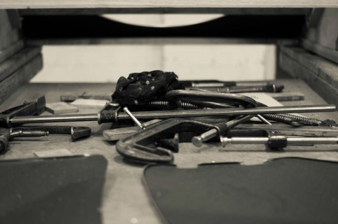 Morgan Factory Visit Tour - Tools - carwitter