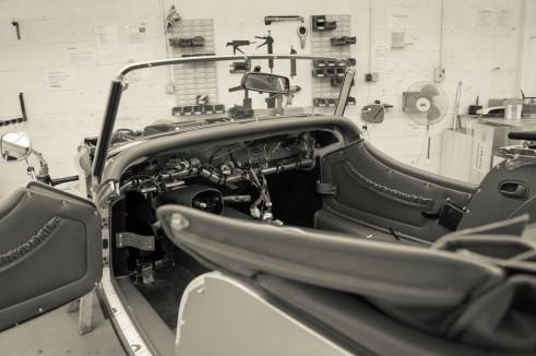 Morgan Factory Visit Tour - Trim Shop - carwitter