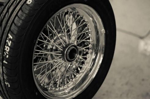 Morgan Factory Visit Tour - Wire Wheel - carwitter