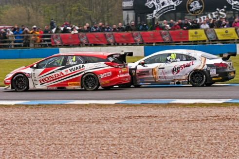 Neal Smith 491x327 - BTCC 2014 - Donington Roundup - MG reign, in the rain - BTCC 2014 - Donington Roundup - MG reign, in the rain