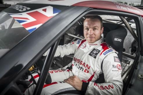 Sir Chris Hoy Nissan GTR GT3 British GT - carwitter