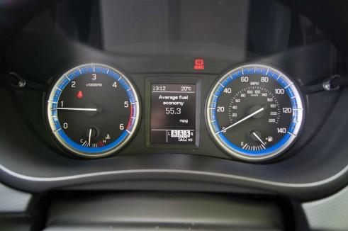 Suzuki SX4 S-Cross Review - Dials - carwitter