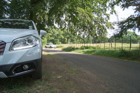 Suzuki SX4 S-Cross Review - Headlight Scene - carwitter