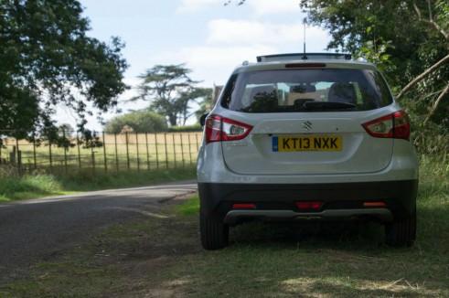 Suzuki SX4 S Cross Review Rear carwitter 491x326 - Suzuki SX4 S-Cross Review – Late contender - Suzuki SX4 S-Cross Review – Late contender