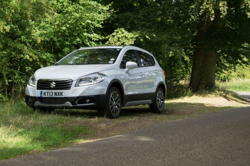Suzuki SX4 S Cross Review Side Angle carwitter 491x326 - Suzuki SX4 S-Cross Review – Late contender - Suzuki SX4 S-Cross Review – Late contender
