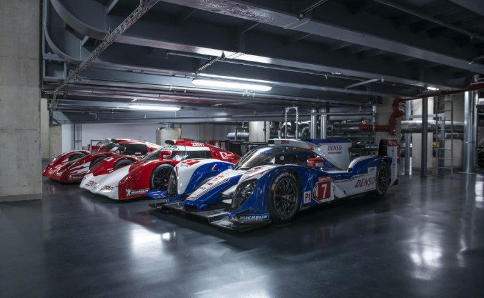 Toyota TS030 Lineup carwitter 700x432 - Toyota's Le Mans History - Toyota's Le Mans History