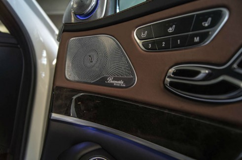 2014 Mercedes S Class Review Burmester Audio carwitter 491x326 - A Night with a Mercedes Benz S Class - A Night with a Mercedes Benz S Class