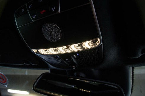 2014 Mercedes S Class Review Chandelier Effect Light carwitter 491x326 - A Night with a Mercedes Benz S Class - A Night with a Mercedes Benz S Class