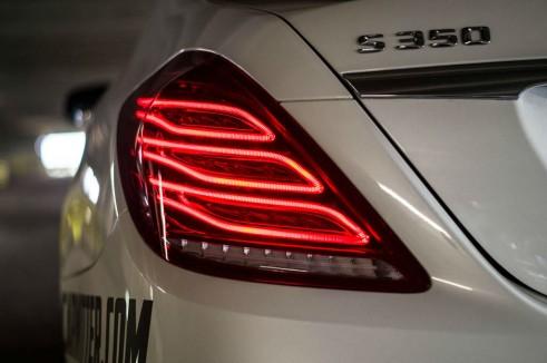 2014 Mercedes S Class Review - Rear Light - carwitter