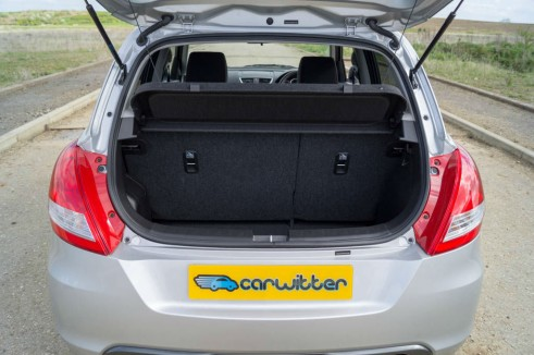 2014 Suzuki Swift Sport Review Boot Space carwitter 491x326 - 2014 Suzuki Swift Sport Review – It just gets better - 2014 Suzuki Swift Sport Review – It just gets better