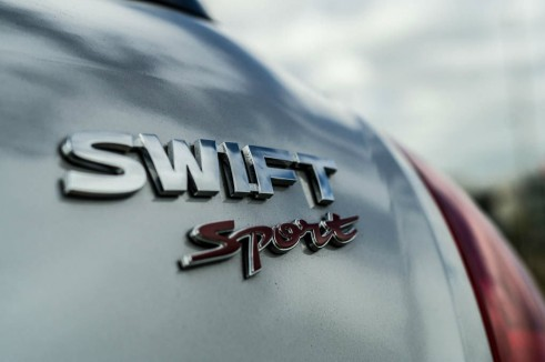 2014 Suzuki Swift Sport Review Rear Badge carwitter 491x326 - 2014 Suzuki Swift Sport Review – It just gets better - 2014 Suzuki Swift Sport Review – It just gets better
