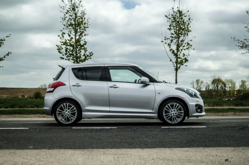 2014 Suzuki Swift Sport Review Side carwitter 491x326 - 2014 Suzuki Swift Sport Review – It just gets better - 2014 Suzuki Swift Sport Review – It just gets better